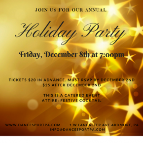 2017 Holiday Party invite 2017